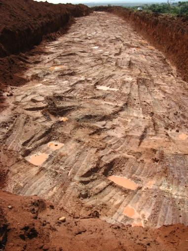 Mining in Chimbongo