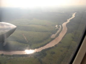 The Luembe river in the Chimbongo concession