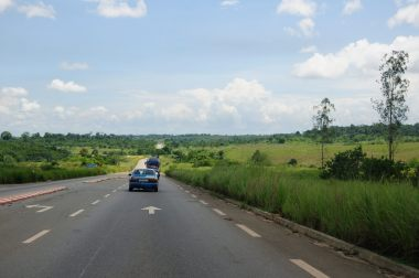 The good road, towards Dolisie