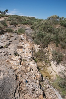 Vein outcrop