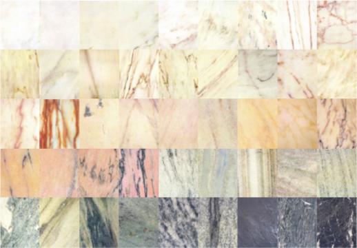 Mármores Portugal - gama cromática e textural