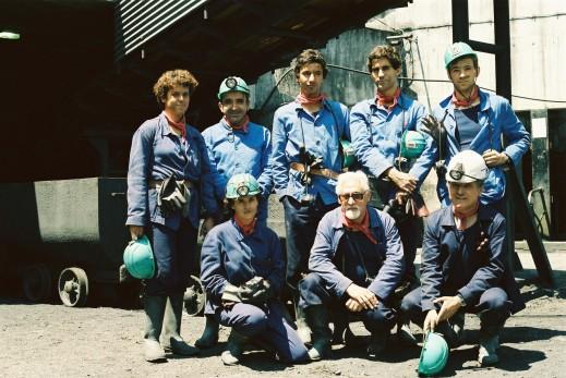 Na mina do Pejão: A melhor turma de Minas do Técnico em viagem (ou como agora se diria, on tour) com o Prof. Décio Tadeu e Prof. Diogo Pinto
