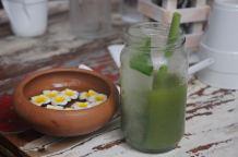 Galle Fort - a green juice @ Poonies