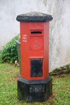 Better than e-mail - Galle Fort