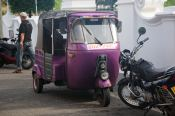 Pink Panther's tuk tuk! @ Galle Fort