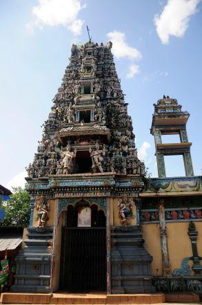 Hindu temple @ Ratnapura