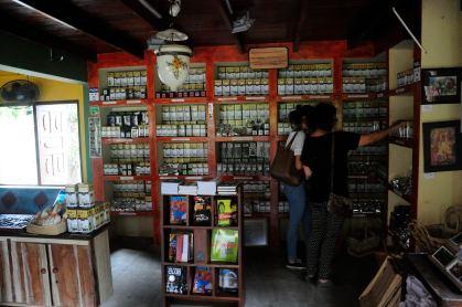 Like a library @ Handunugoda Tea Estate