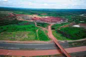 Camatchia kimberlite mine