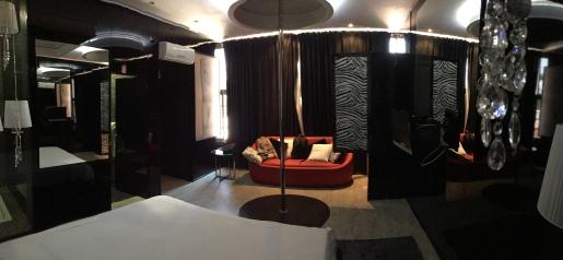 A minha suite em Saurimo